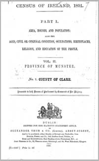 photo of Census Reports: Clare 1871 (DOWNLOAD)