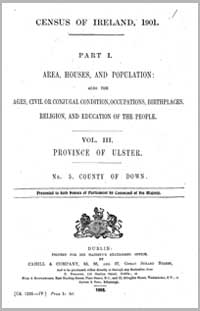 photo of Census Reports: Down 1851 (DOWNLOAD)