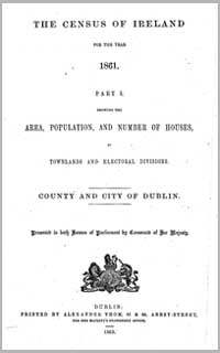 photo of Census Reports: Dublin City 1901 (DOWNLOAD)
