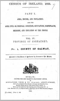 photo of Census Reports: Galway 1851 (DOWNLOAD)
