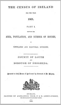 photo of Census Reports: County Louth 1861 (DOWNLOAD)
