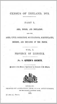 photo of Census Reports 1851-1911: County Laois
