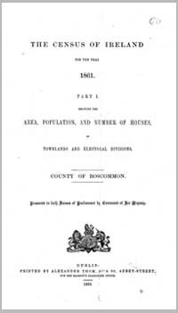 photo of Census Reports: County Roscommon 1881 (DOWNLOAD)
