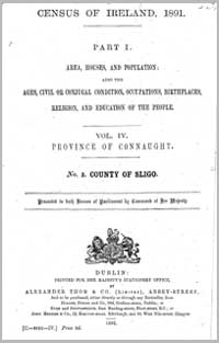 photo of Census Reports: County Sligo 1851 (DOWNLOAD)