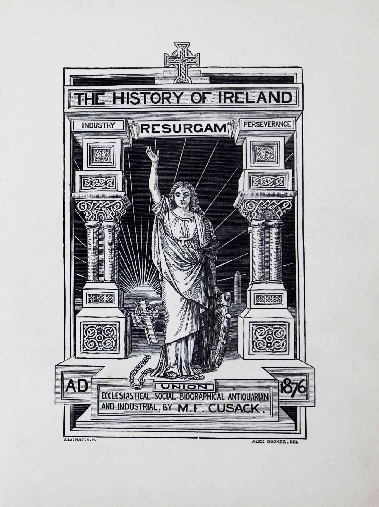 photo of The History of the Irish Nation. 1876