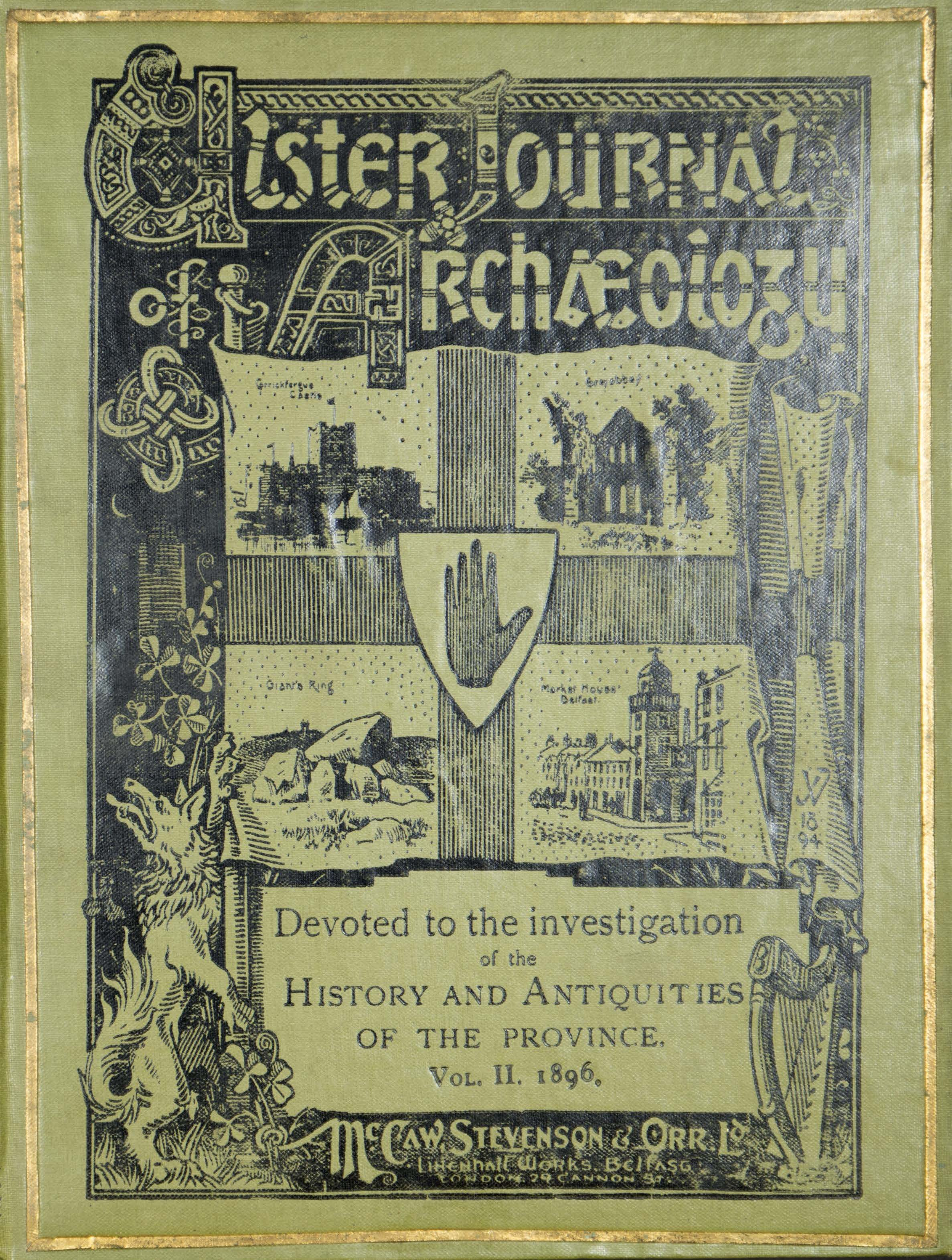photo of Ulster Journal of Archaeology Volume II, 1896