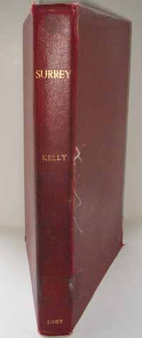 photo of Kelly's Post Office Directory of Surrey 1867
