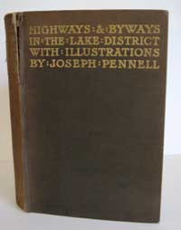 photo of A. G. Bradley, Jospeh Pennell, Highways and Byways in the Lake District, 1903
