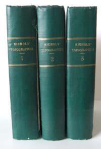 photo of Joseph Gough Nichols, The Topographer and Genealogist (3 Vols) 1846-1858