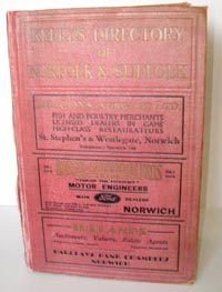 photo of Kelly's Directory of the Country of Norfolk, 1933