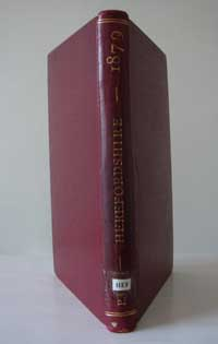 photo of Kelly's Post Office Directory of Herefordshire, 1879