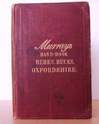 photo of Murray's Handbook for Travellers in Berks, Bucks and Oxfordshire, 1882