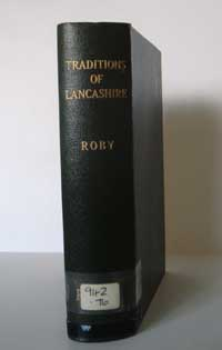 photo of John Roby, Traditions of Lancashire, 1928