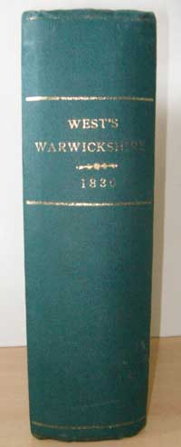 photo of WM West, A History, Topography and Directory of Warwickshire, 1830