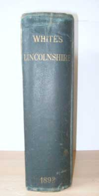 photo of White's, History, Gazetteer and Directory of Lincolnshire, 1892