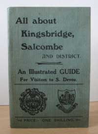 photo of Rev. William Thos. Adey, All About Kingsbridge and Salcombe, A New and Practical Illustrated Guide for the Use of Visitors, 1903