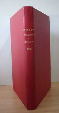 photo of Kelly's Directory of Berkshire, 1899