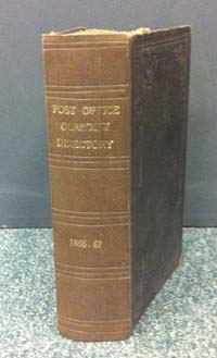 photo of Post Office Glasgow Directory 1866, 1867