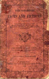 photo of John Potter Briscoe, Nottinghamshire Facts and Fictions, 1876