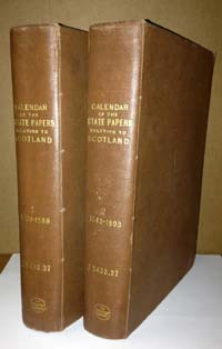 photo of Calendar of the State Papers Relating to Scotland, Vols. 1 & 2: 1509-1603