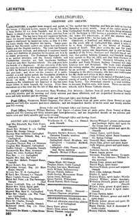 photo of Slater's Commercial Directory of Ireland, 1881, Leinster & Dublin Sections