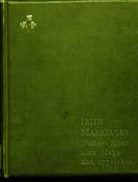 photo of Farrar's Index to Irish Marriages 1771-1812
