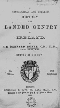 photo of Burke's Landed Gentry of Ireland, 1899