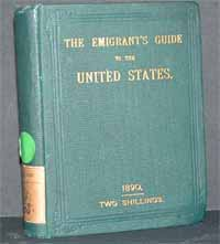 photo of The Irish Emigrant's Guide for the United States, 1890