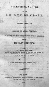 photo of Statistical Survey of County Clare, 1808