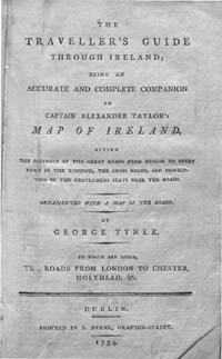 photo of Tyner's Traveller's Guide Through Ireland, 1794