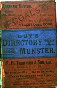 photo of Guy's Directory of Munster 1893