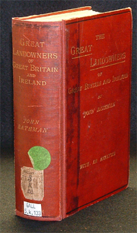 photo of Bateman's Great Landowners of Great Britain and Ireland (4th ed., 1883)