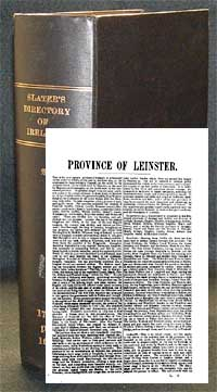 photo of Slater's Royal National Directory of Ireland 1894: Leinster & Dublin city Sections