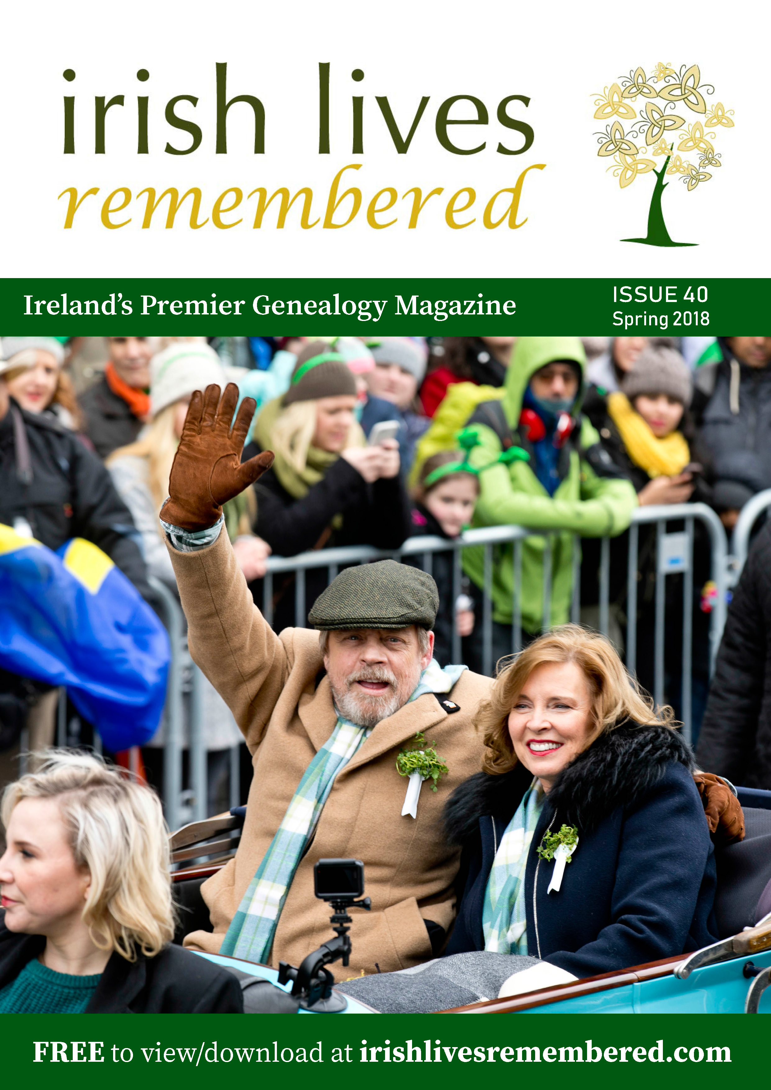 photo of Irish Lives Remembered Issue 40
