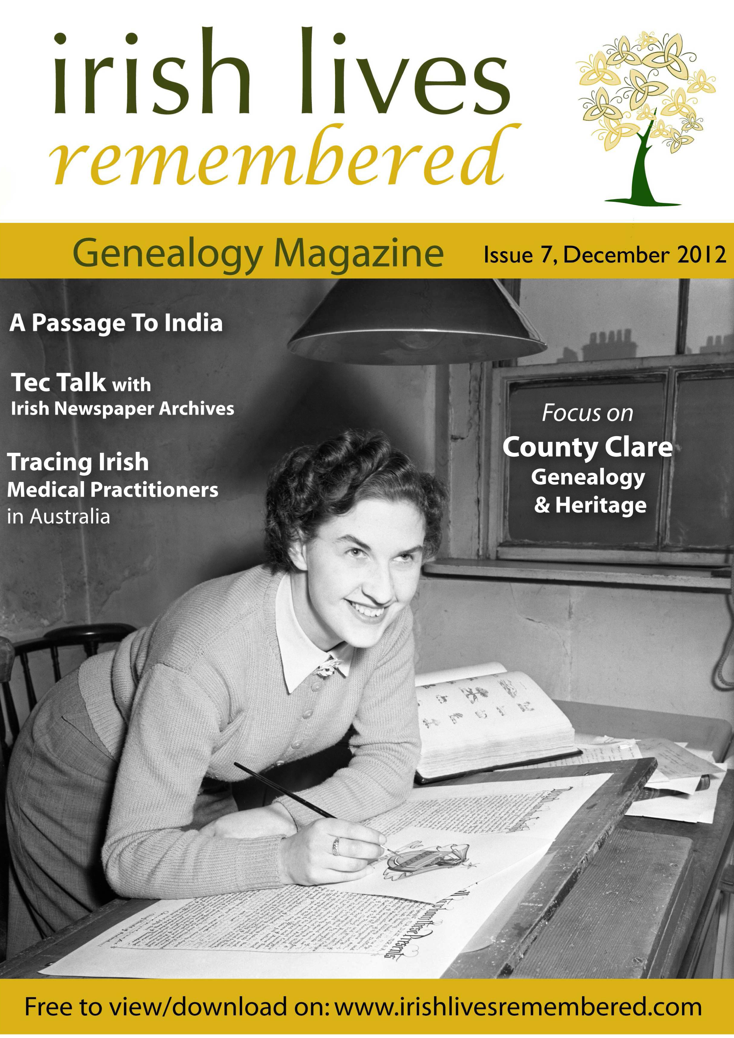 photo of Irish Lives Remembered Issue 7 December 2012