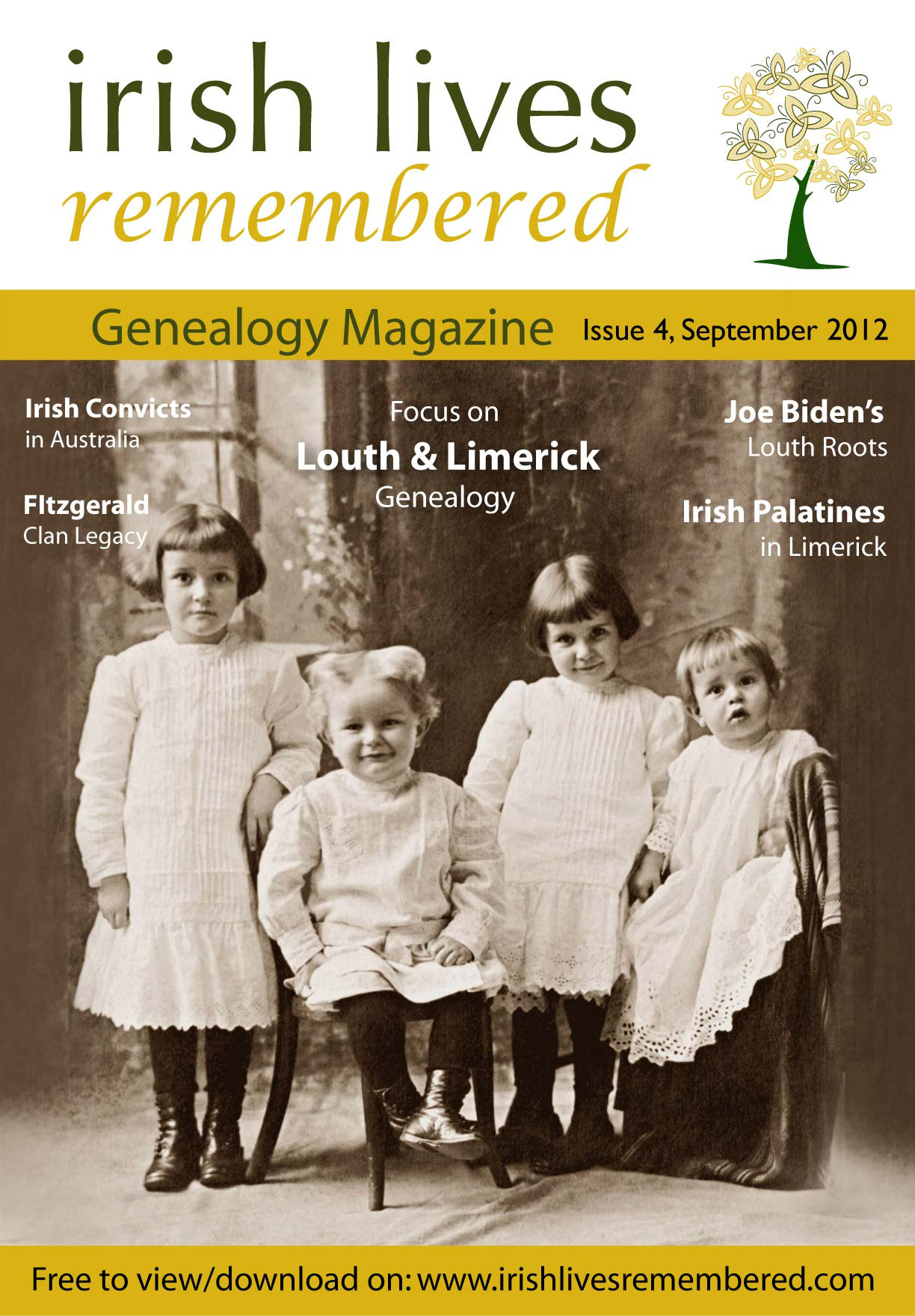 photo of Irish Lives Remembered Issue 4 September 2012