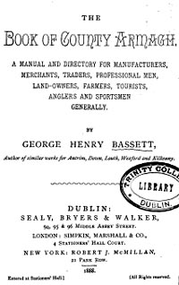 photo of Bassett's Book of County Armagh 1888