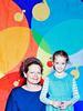 Sally og tina foto til skolens familietavle thumb