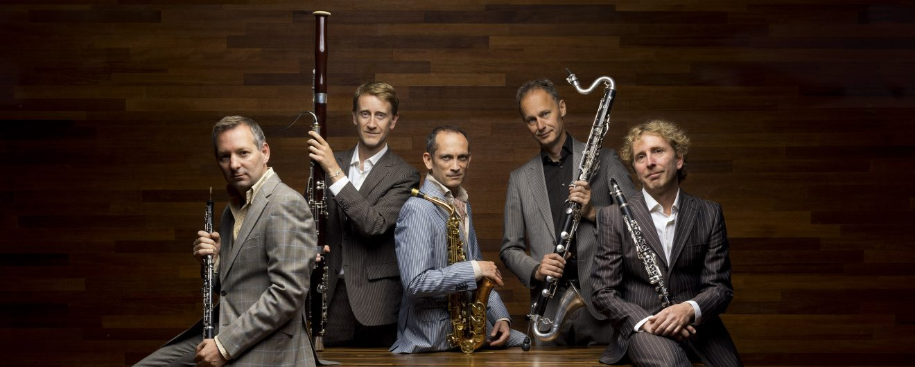 Calefax is Ensemble in Residence in The Hague