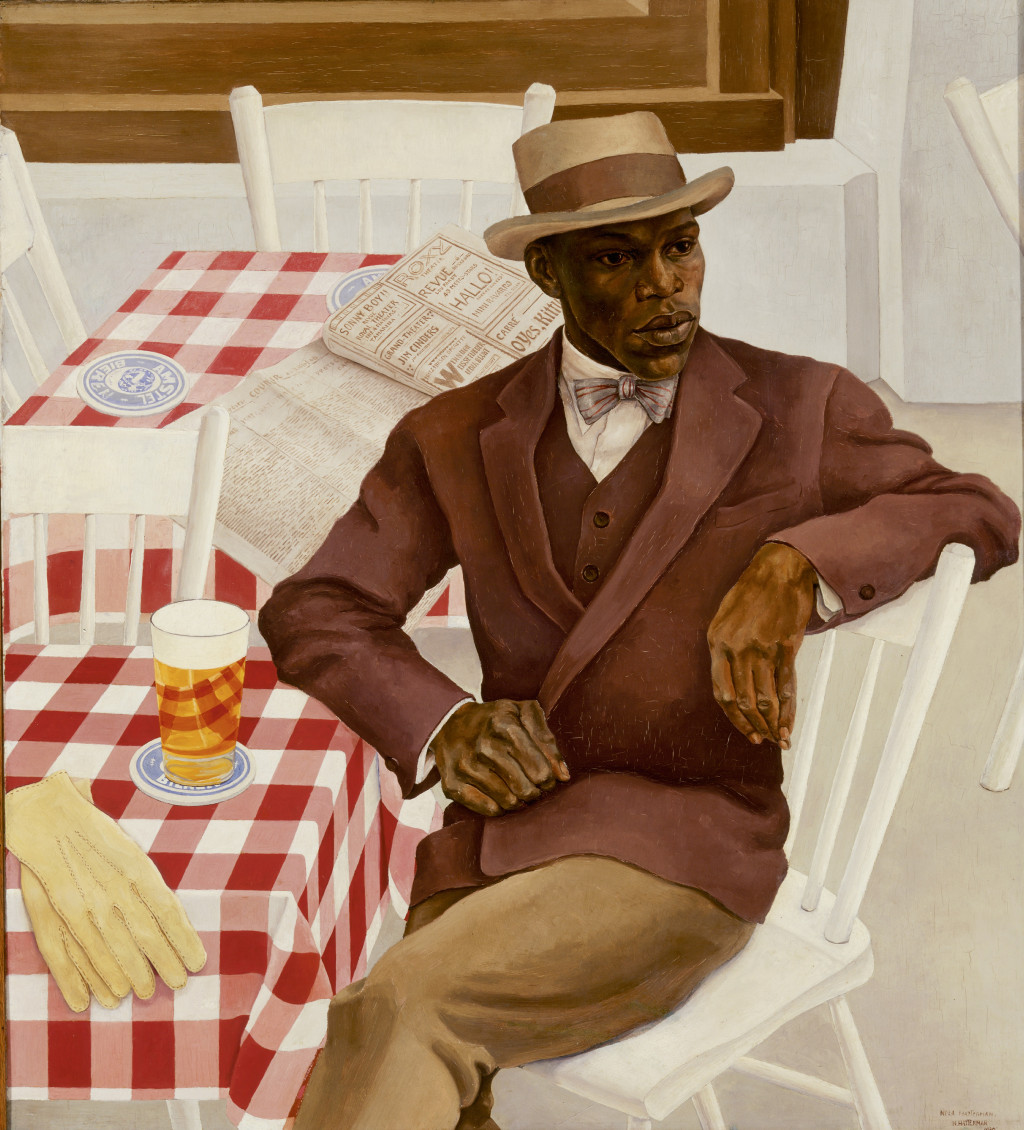 Nola Hatterman, Op het terras (On the Terrace), 1930. Collection Stedelijk Museum Amsterdam