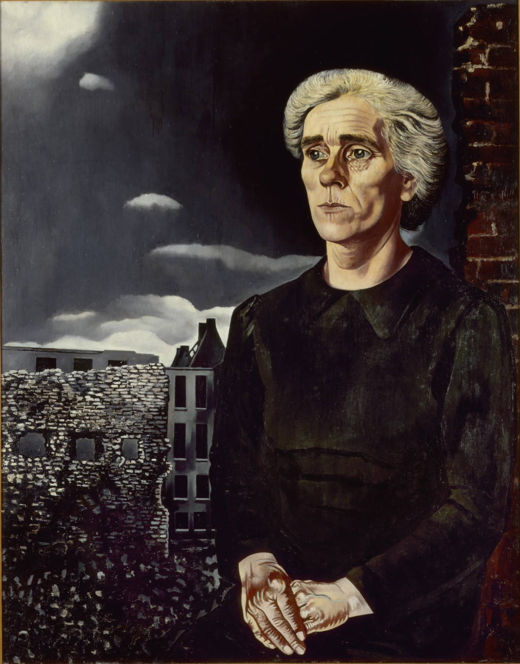 Charley Toorop, Arbeidersvrouw (Working-Class Woman), 1943. c/o Pictoright Amsterdam. Collection Stedelijk Museum Amsterdam