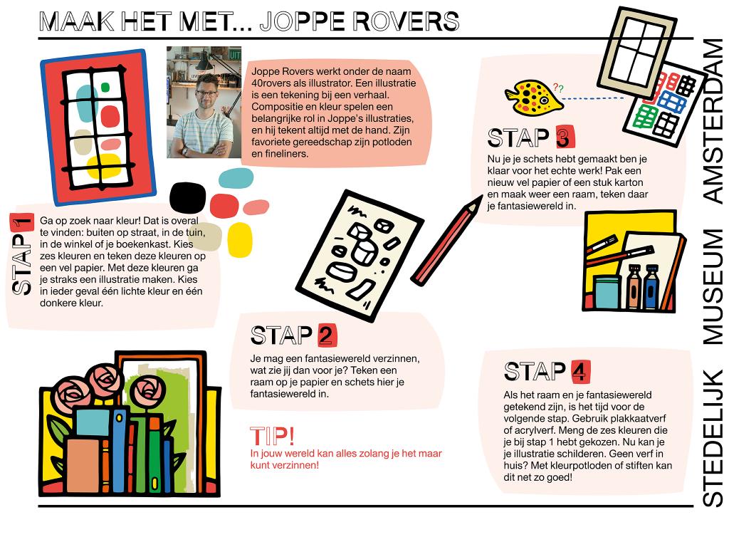 Workshop werkblad Joppe Roovers