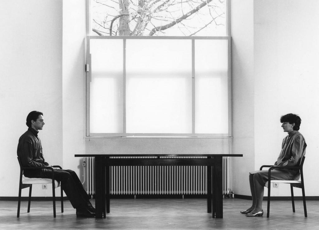Marina Abramović / Ulay, 'Nightsea Crossing', 1982, Foto: Stedelijk Museum Amsterdam