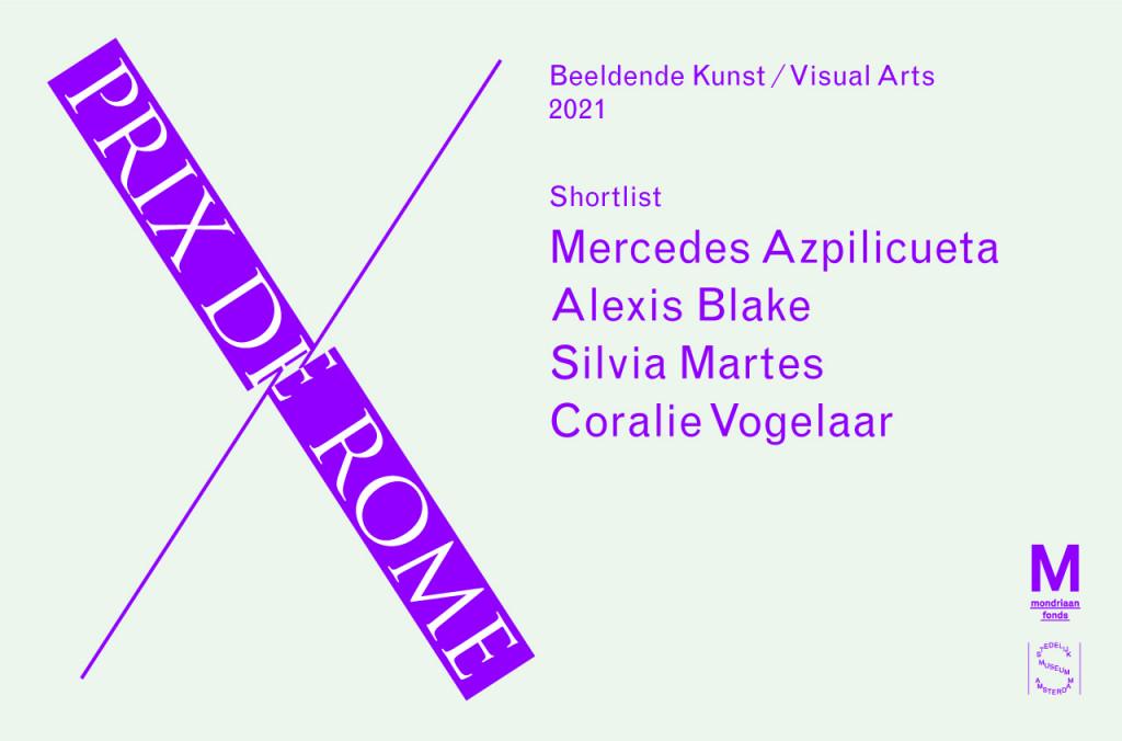 Prix de Rome Shortlist banner