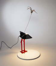 Ingo Maurer, table lamp 'Bibibibi', 1982