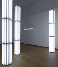 Cerith Wyn Evans, installation view Jump into the Future - Art from the 90's and 2000's. The Borgmann Donation. Photo: Gert Jan van Rooij