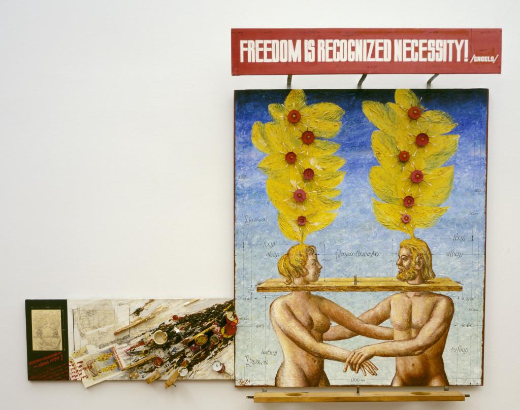 Leonid Izrailevich Lamm, Adam and Eve: Freedom is Recognized Necessity, 1984. Collectie Stedelijk Museum Amsterdam