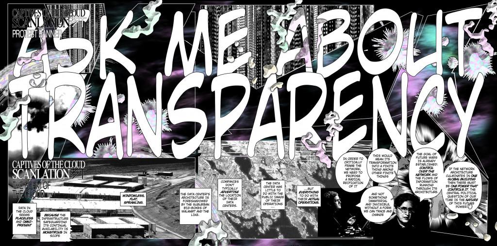 Metahaven, Captives of the Cloud: Scanlation, 2013. Courtesy Metahaven
