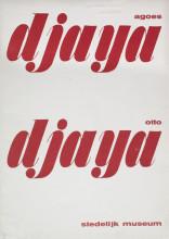 Willem Sandberg, catalogus Stedelijk Museum Amsterdam, Agoes Djaya en Otto Djaya, 1947. Collectie Stedelijk Museum Amsterdam