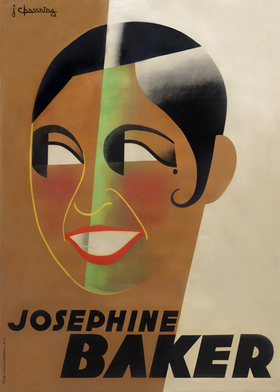 Jean Chassaing, affiche Josephine Baker, 1931, collection Stedelijk Museum Amsterdam